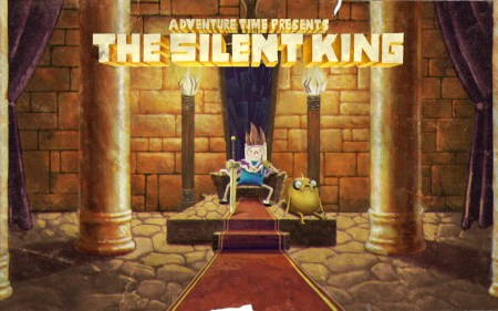 adventure time presents the silent king