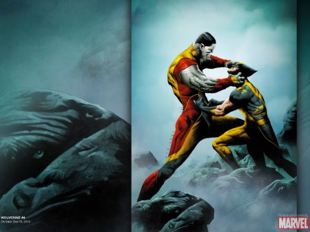 wolverine vs colossus