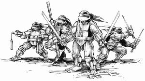 TMNT turtles