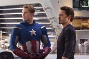 Captain America and Tony Stark