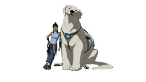 Avatar and Dog