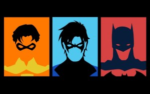 Robin, Nightwing, Batman