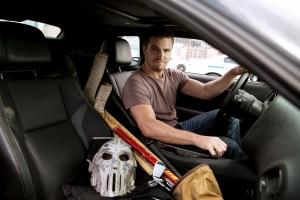 Casey Jones in his Car