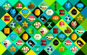 Mario Power Up Items