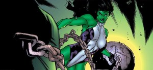 She hulk has a wrecking ball