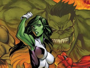 SheHulk and Man Hulk