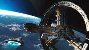 Starship 44 Beryl by Robin Boer