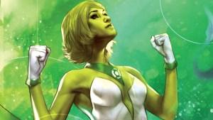 female green lantern