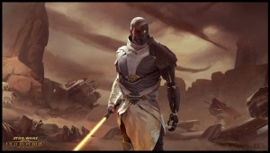 star wars the old republic – golden light saber