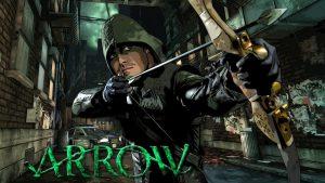 Arrow in a alleyway