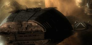 Galactica Departs