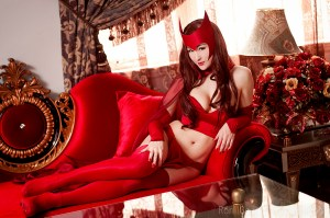 Mostflogged as the Scarlet Witch