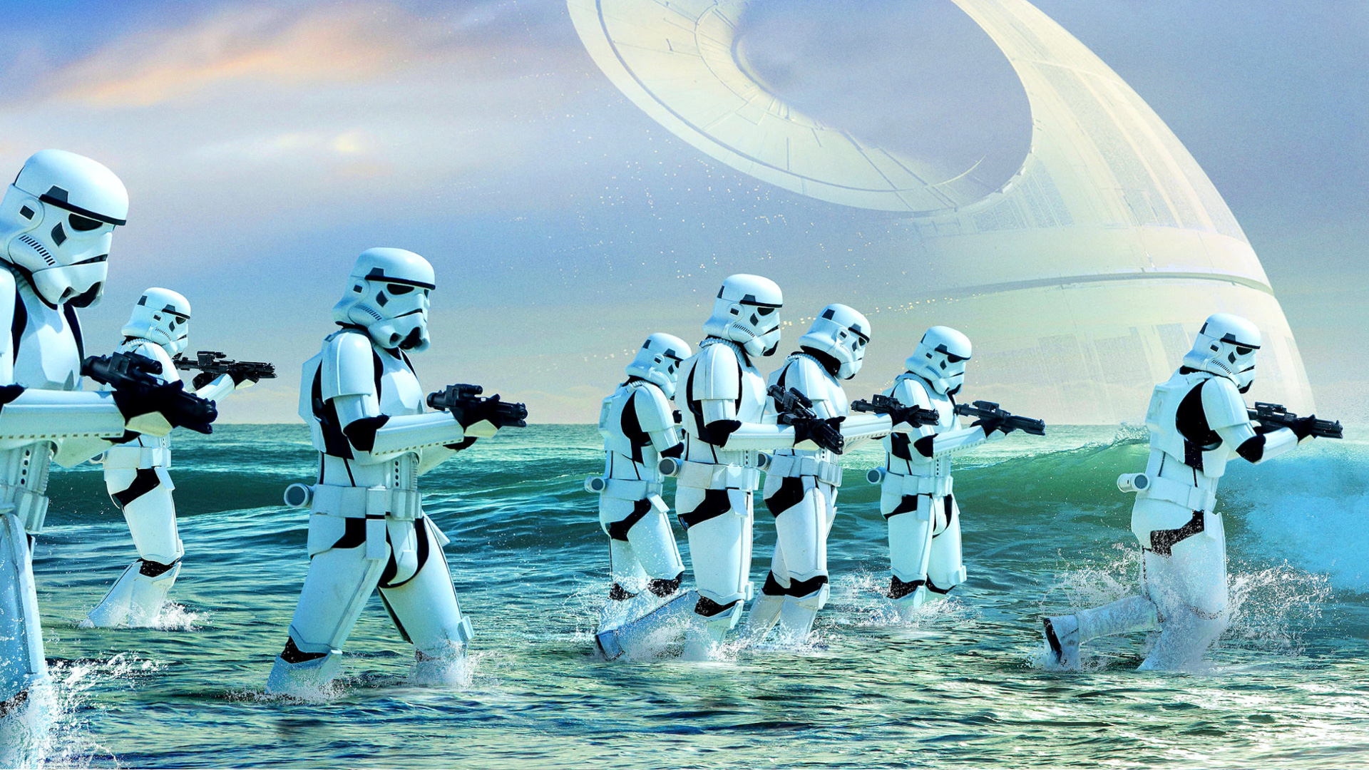 Rogue One Dual Monitor Wallpapers Zoom Comics