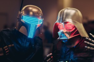 DJ Star Wars Helmets