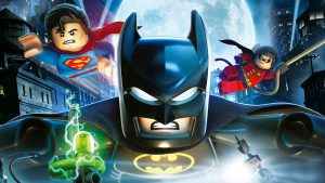 Lego batman, superman and robin