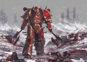 Space Marine after battle