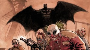 Batman Swooping in on the Jokerz