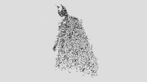 Batman made of Bats