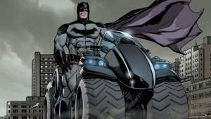 Batman on an ATV