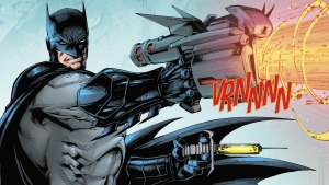 Batman with his Gun