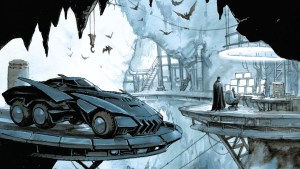 Batman's Batcaving Featuring the Batmobile