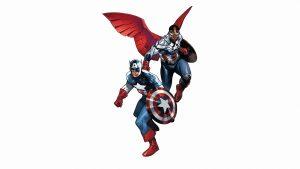 Captain America and his White Friend