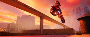 Elastigirl in The Incredibles 2