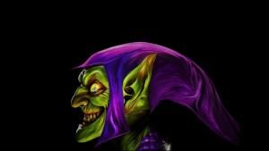 Green Goblin lookin crazed