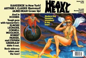 Heavy Metal Modern Day Vampries