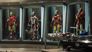 Iron Man Suit Library