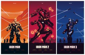 Iron Man Triple Movie Poster