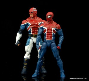 Marvel Legends Spider-man UK and Captain Britain