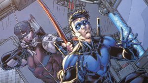 Nightwing Ambushed