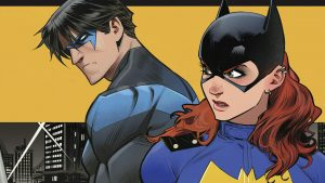 Nightwing and Batgirl