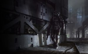 ODST on the move