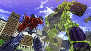 Optimus vs Destrucicons