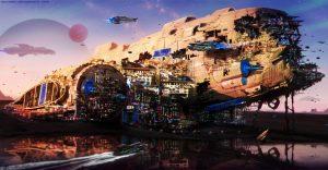 Space Ship City 300x156 Space Ship City