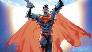Superman holding up the world