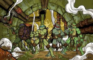 TMNT in the goopy sewer
