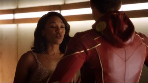 The Flash – Kissy Face from Candice Patton