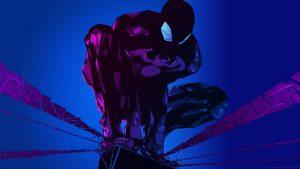 Vectoring Spider-man