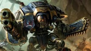 Warhammer 40k Titan man