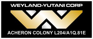 Weyland-Yutani Corp Logo