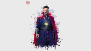 doctor strange in avengers infinity war 2018 4k artwork kw