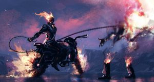 ghost rider artwork do
