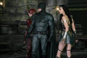 justice league wonder woman flash and batman bs