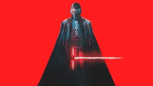 kylo ren star wars artwork fp