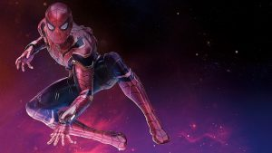 spiderman new suit for avengers infinity war si