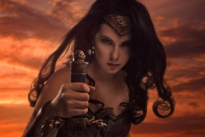 wonder woman cosplay zo