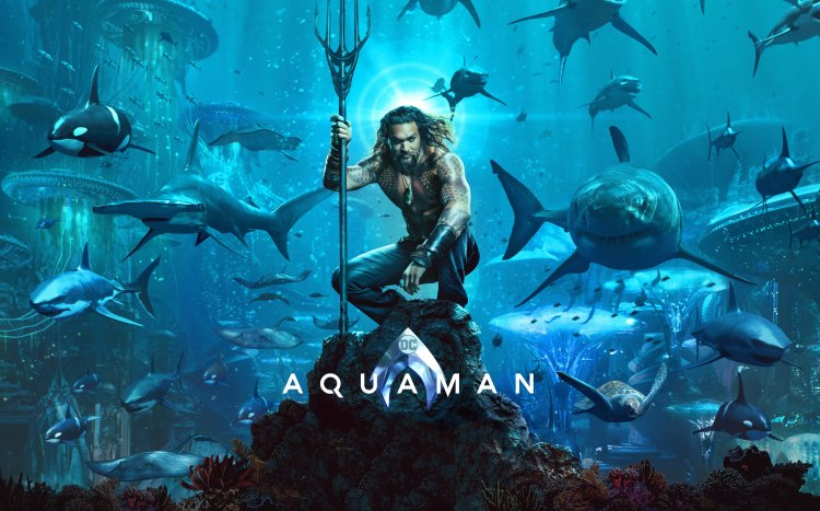 Aquaman Movie Poster Wallpaper